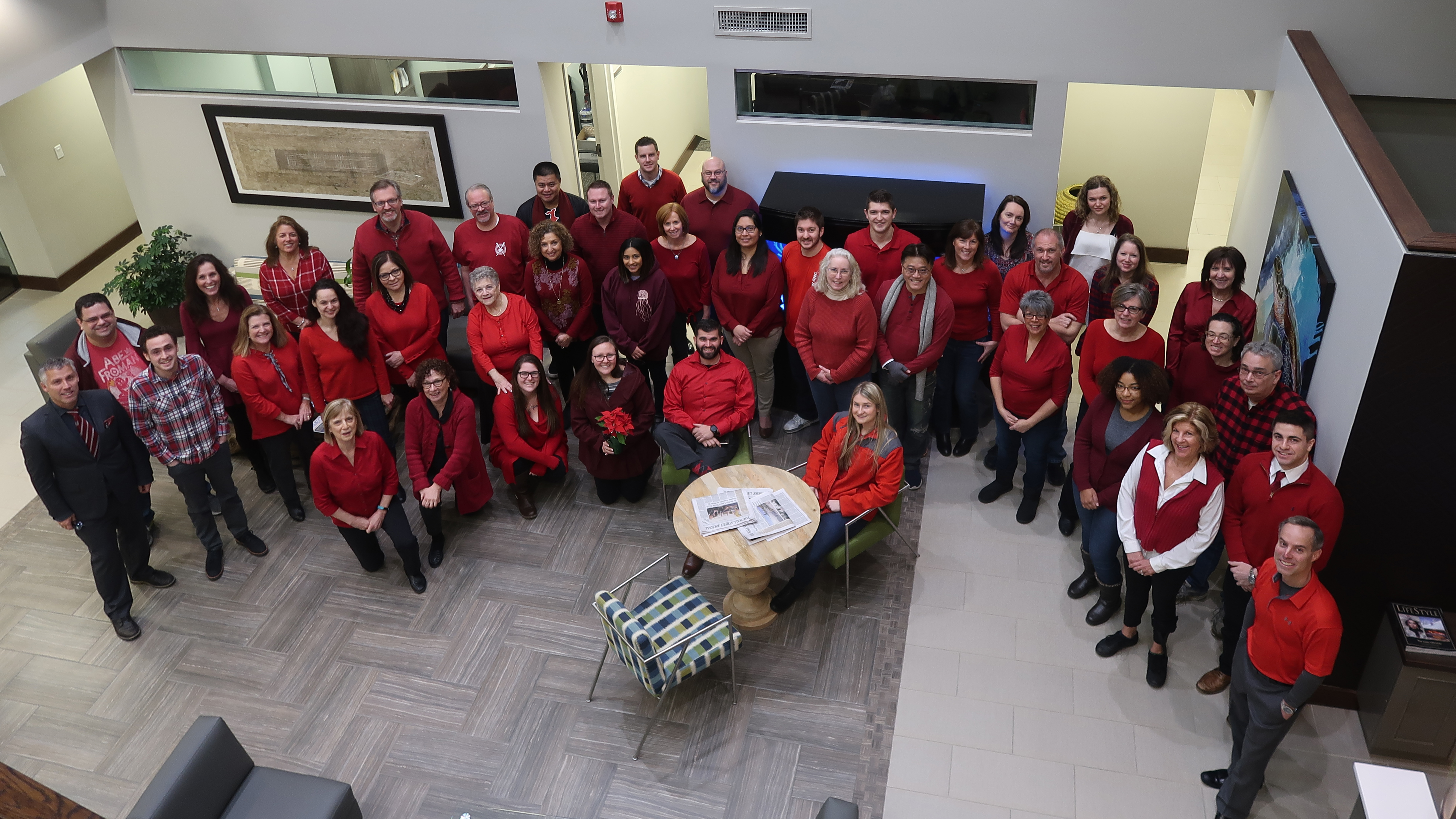 Capaldi Reynolds & Pelosi Partners and Employees Go Red for Women